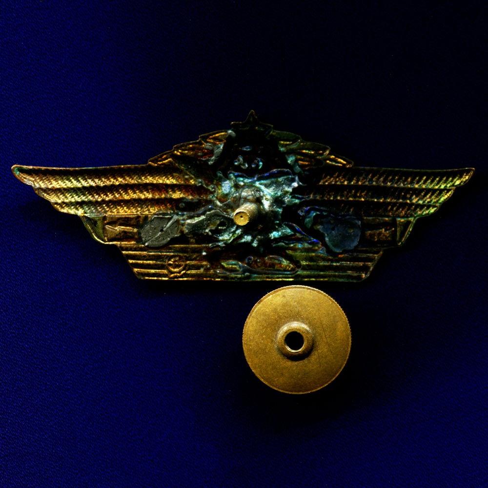 Знак «Офицерская классность» Тяжелый металл Эмаль - 1