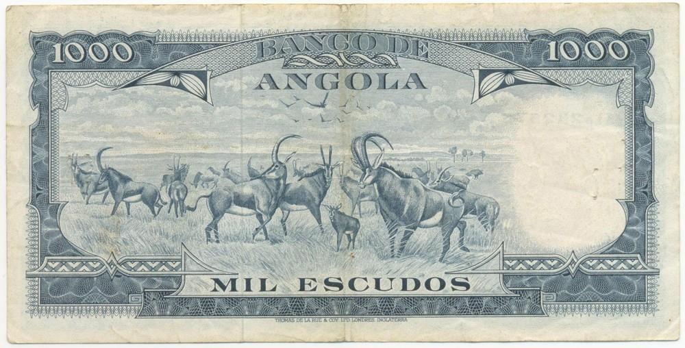 Ангола 1000 эскудо 1970 VF - 1