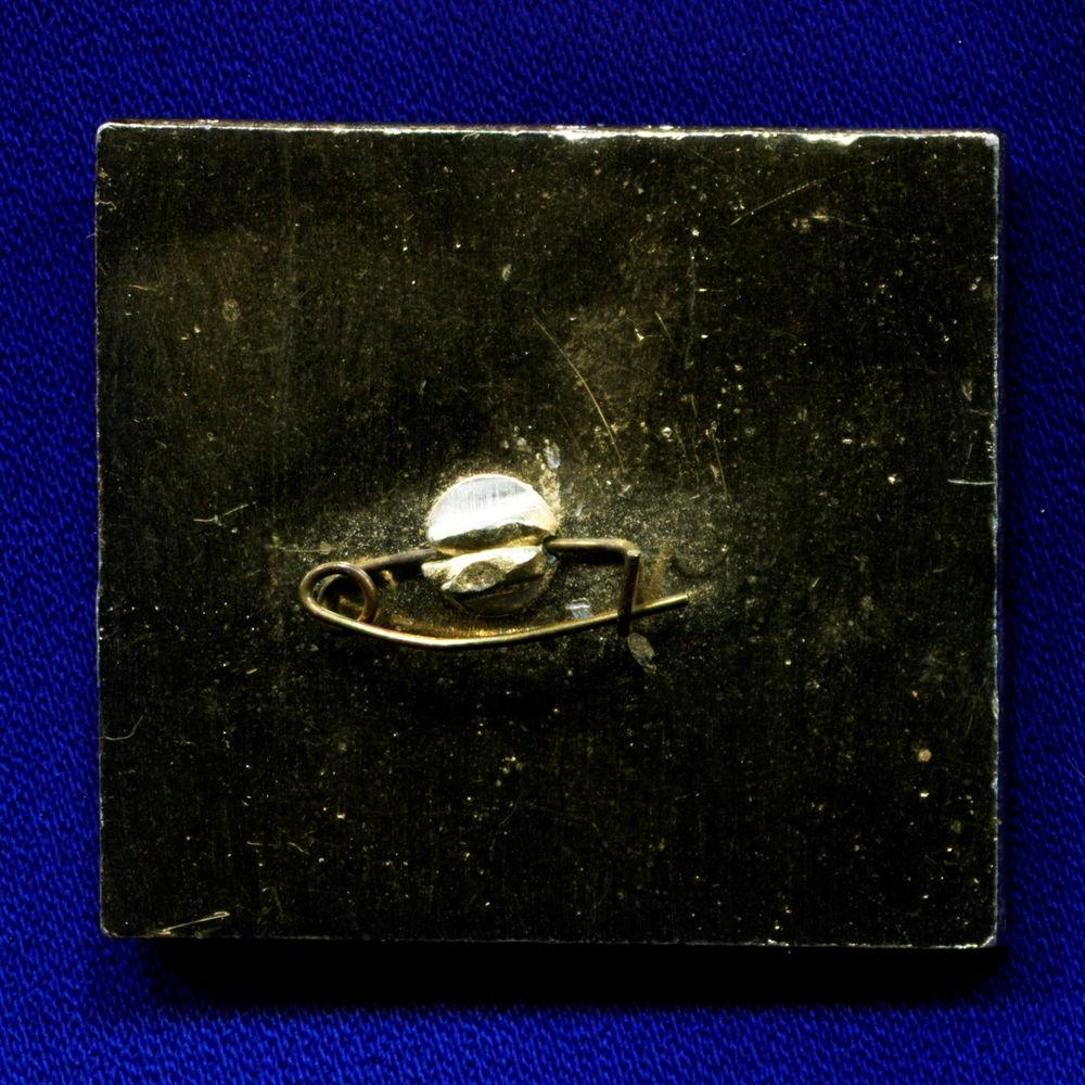 Значок «ВДНХ СССР Приморье 1982» Легкий металл Эмаль Булавка - 1