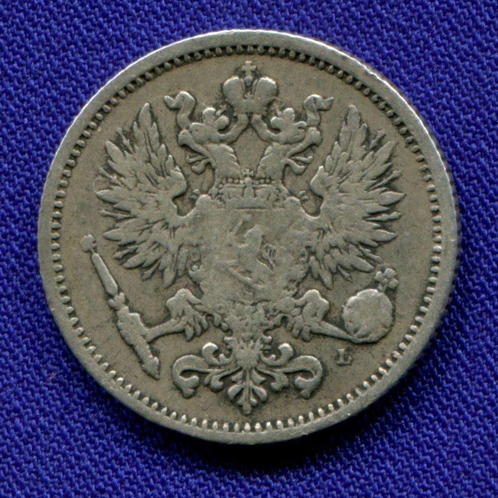 Александр III 50 пенни 1889 L VF+ - 1