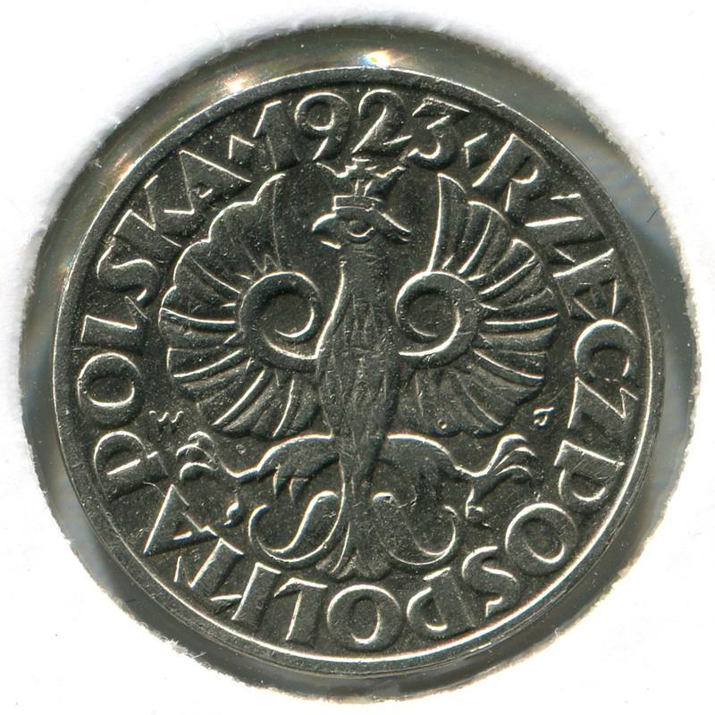 Польша 20 грошей 1923 #12 - 1