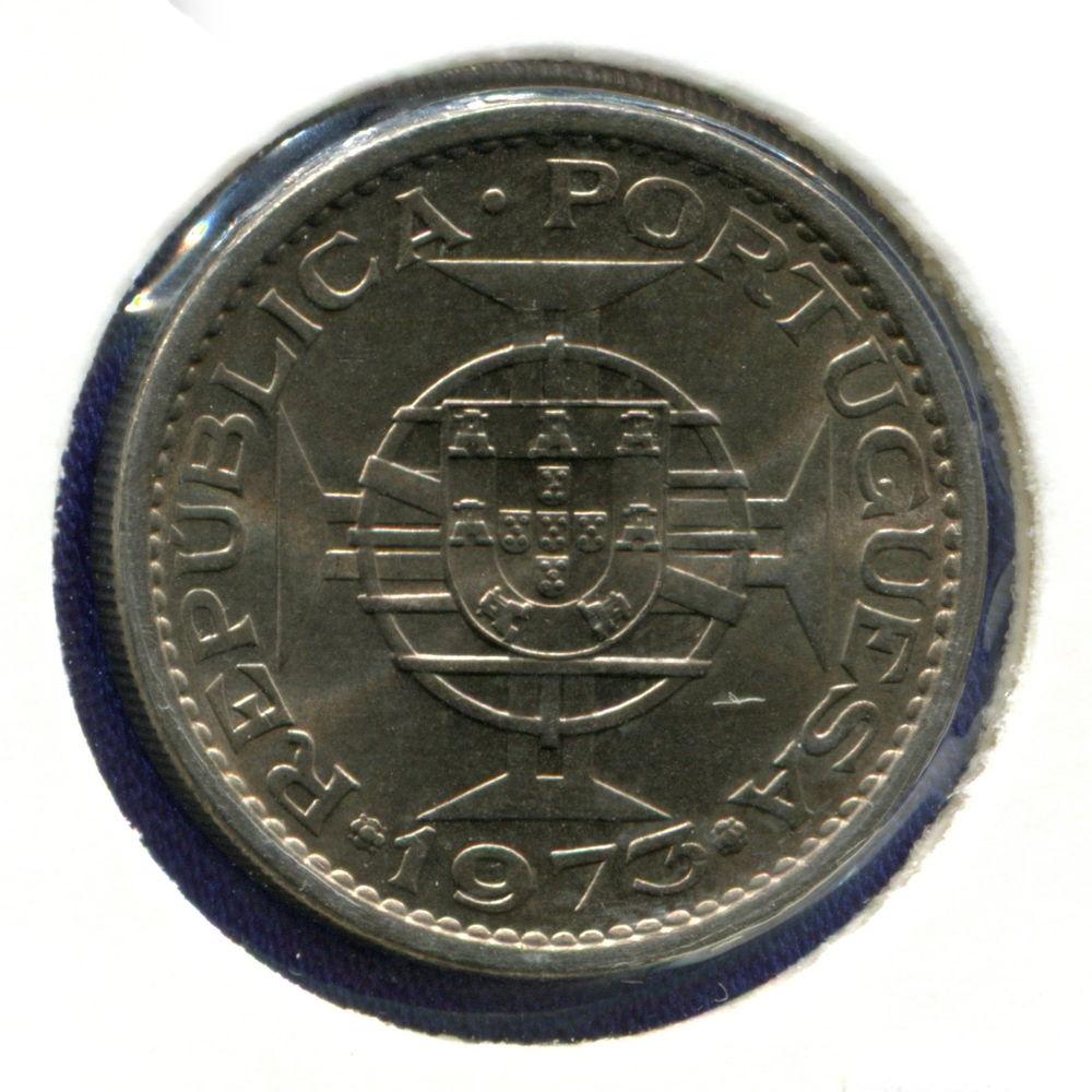 Мозамбик 5 эскудо 1973 BU - 1