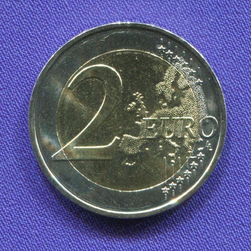 Мальта 2 евро 2016 UNC Дети и солидарность  - 1