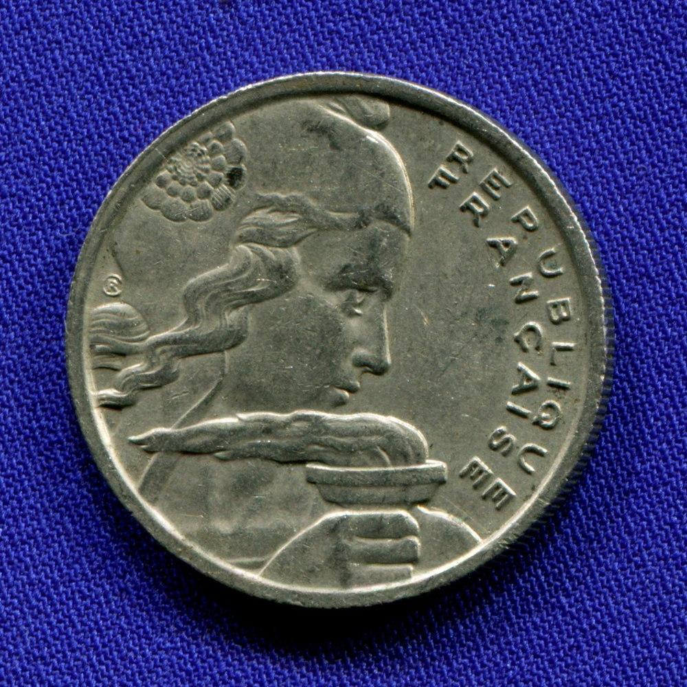 Франция 100 франков 1955 XF- - 1