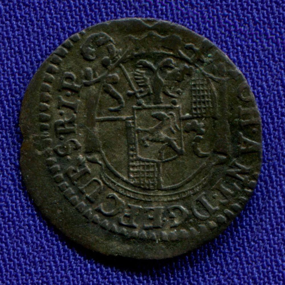 Швейцария/Кур 1 блюцгер 1766 aUNC  - 1