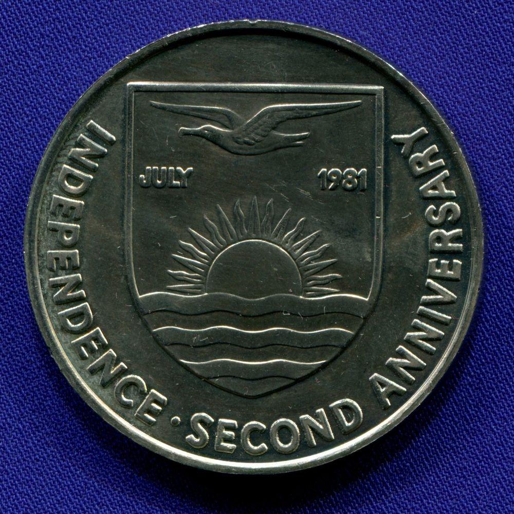 Кирибати 5 долларов 1981 aUNC Свадьба  - 1
