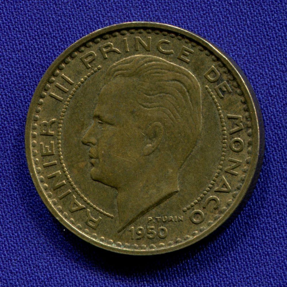 Монако 50 франков 1950 XF  - 1