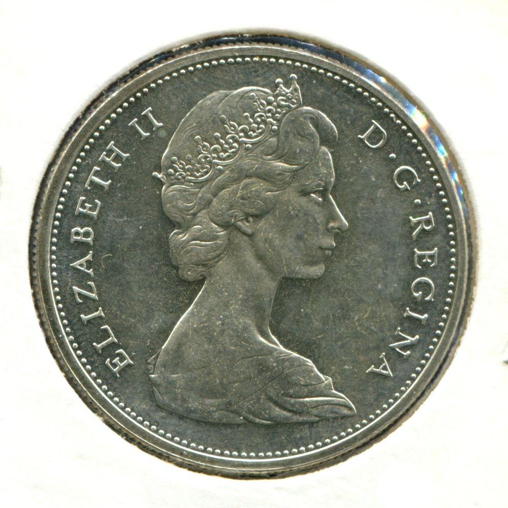Канада 1 доллар 1965 UNC  - 1