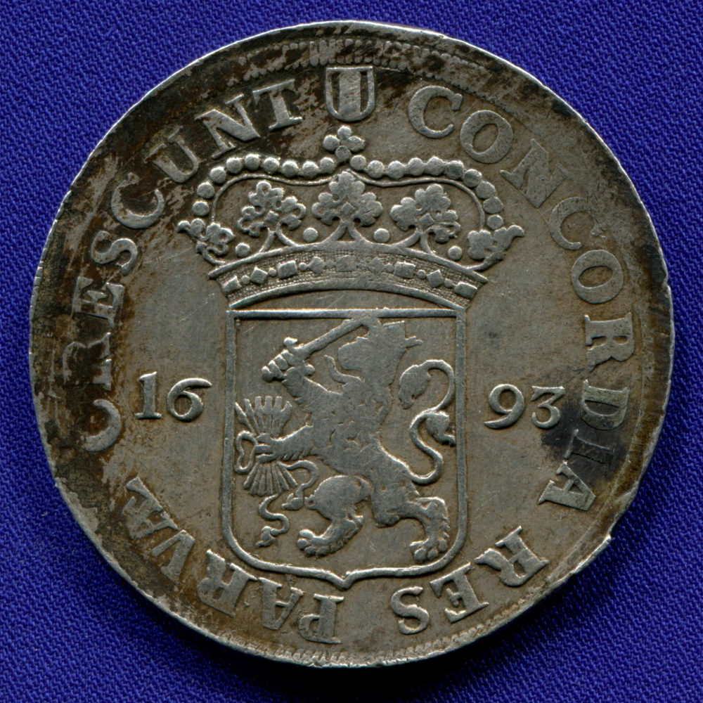 Нидерланды/Голландия 1 далер 1693 GVF  - 1