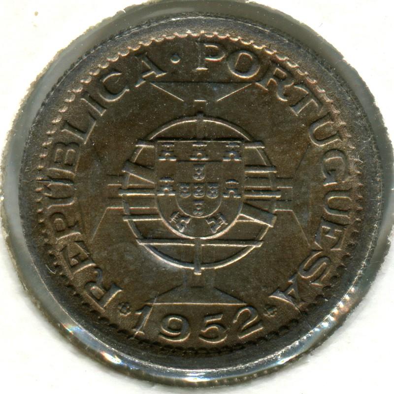 Португальская Гвинея 2.5 эскудо 1952 #9 - 1