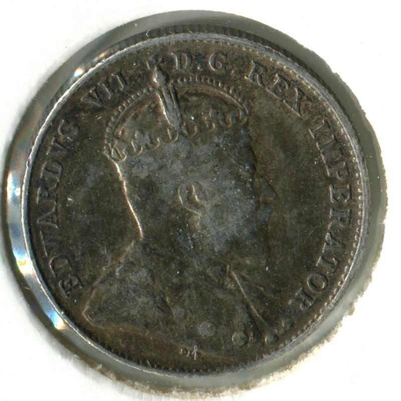 Канада 10 центов 1902 #10 GVF - 1