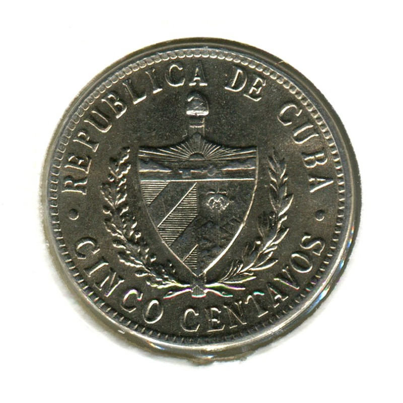 Куба 5 сентаво 1946 #11.3 BU - 1