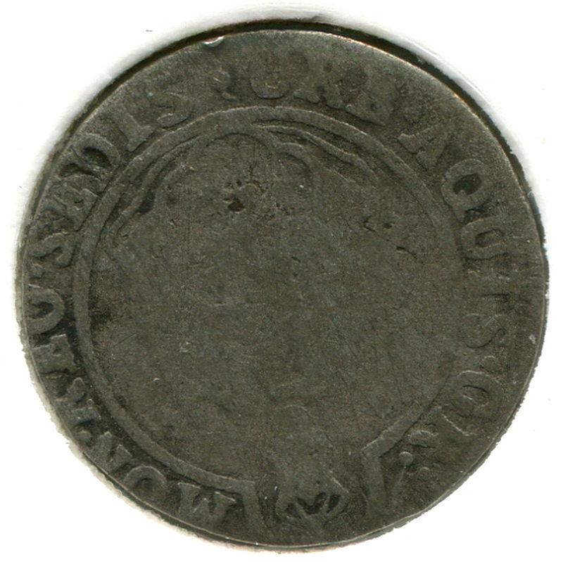 Германия Ахен 3 марки 1754 #50 F - 1