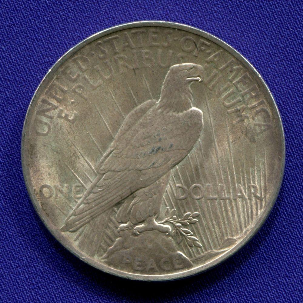 США 1 доллар 1922 XF  - 1
