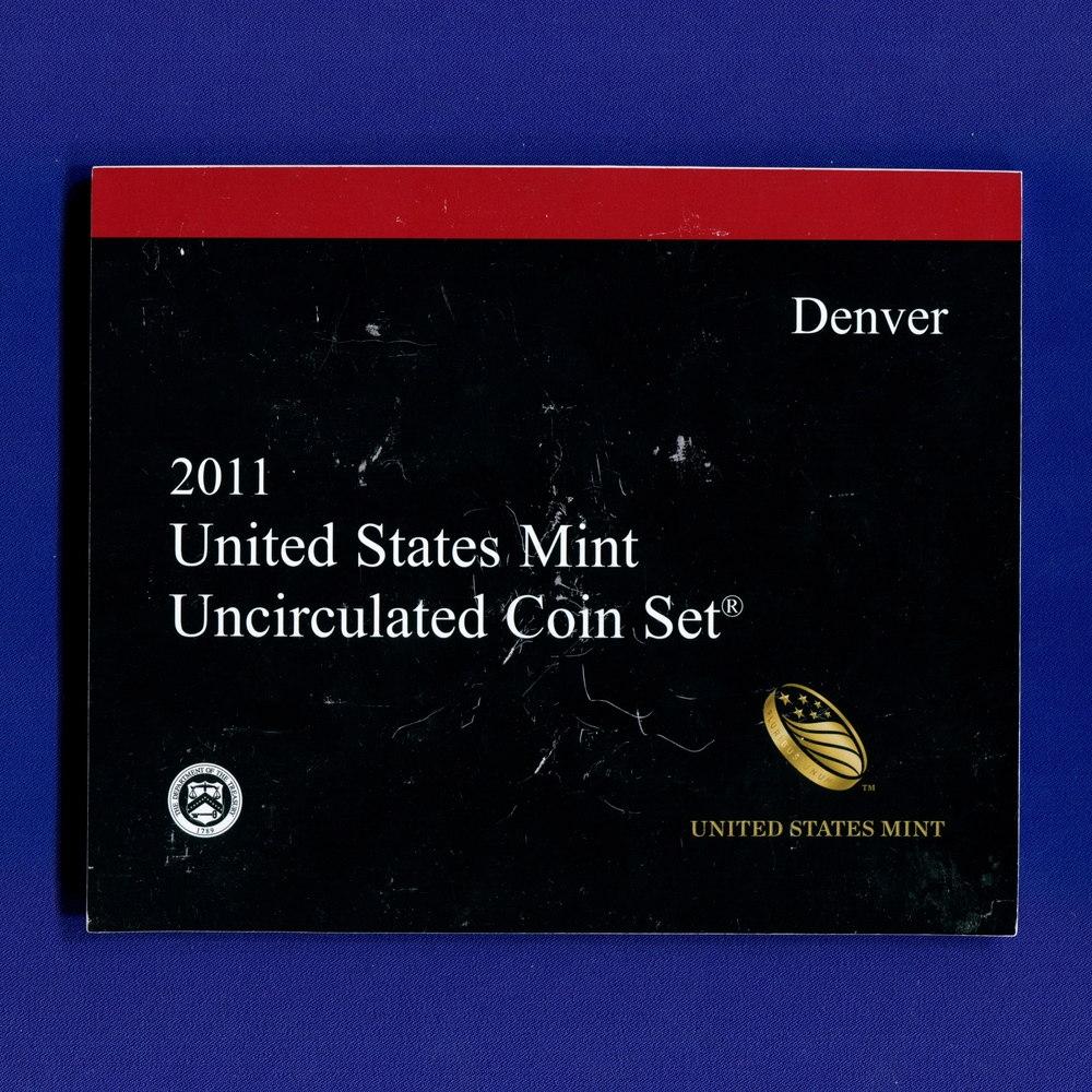 Набор монет США 2011 UNC - 2