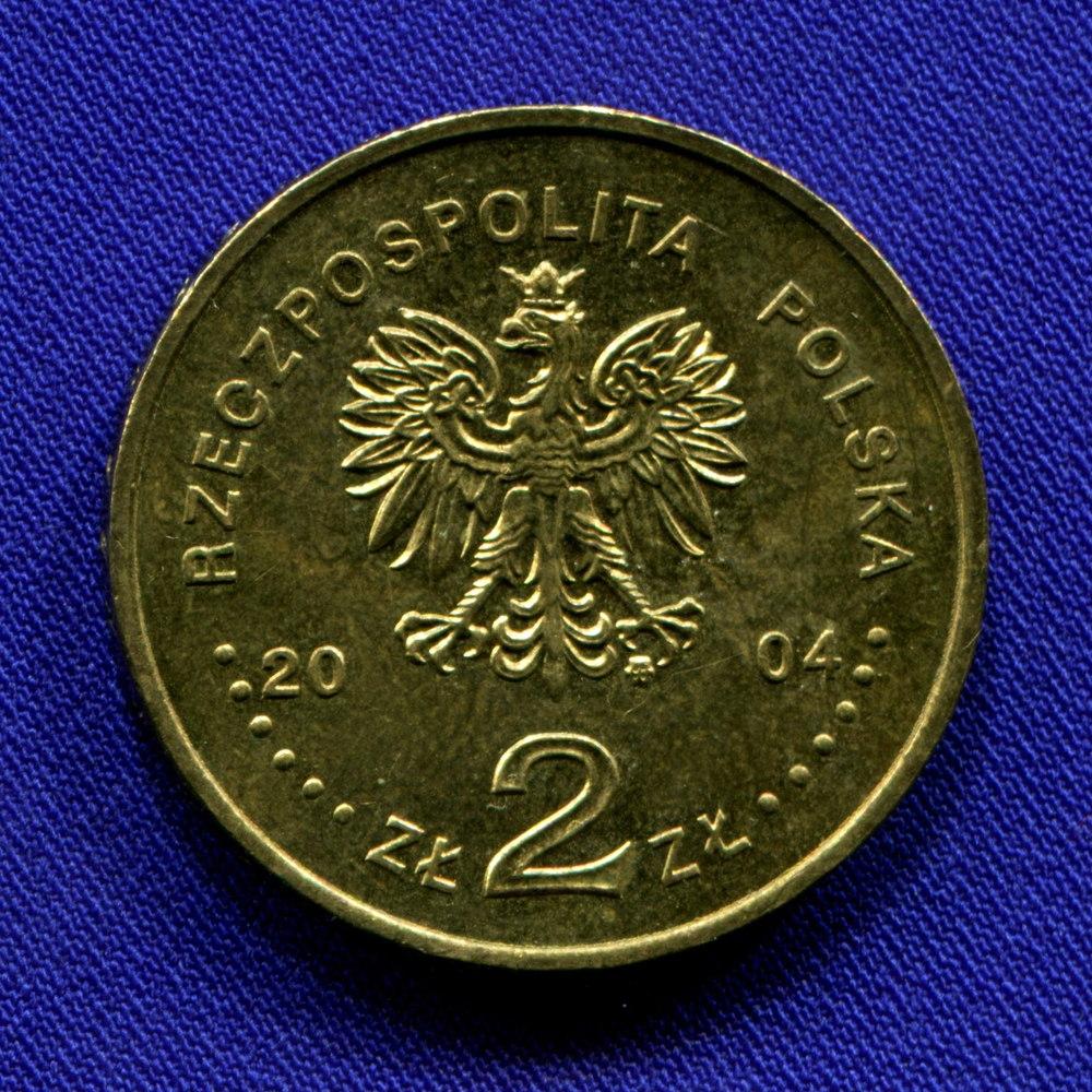 Польша 2 злотых 2004 UNC XXVIII Олимпийские игры в Афинах  - 1
