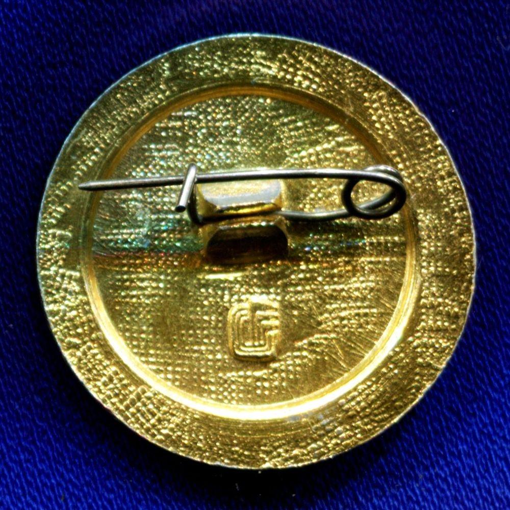 Значок «Общество борьбы за трезвость» Легкий металл Булавка - 1