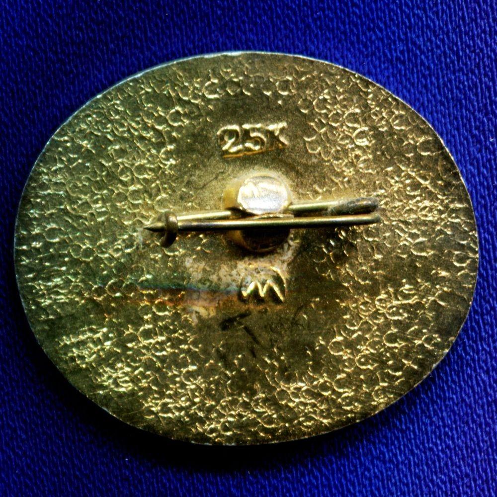 Значок «Корабль Восток-1 1961» Алюминий Булавка - 1