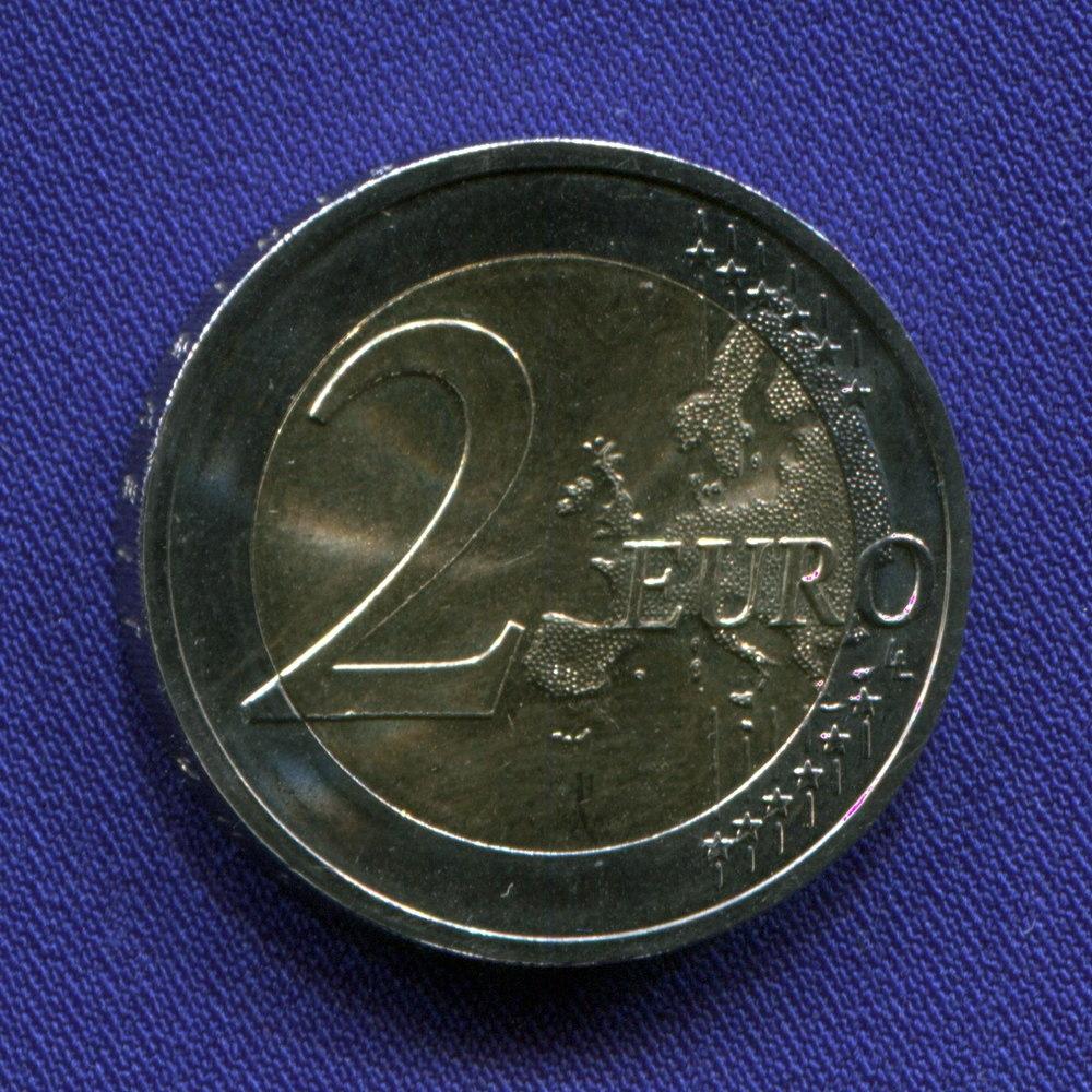 Германия 2 евро 2015 UNC Объеденение Германии  - 1