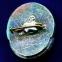 Значок «Дом мира и дружбы» Легкий металл Камень  Булавка - 1
