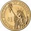 США 1 доллар 2012 года президент №24 Гровер Кливленд - 1